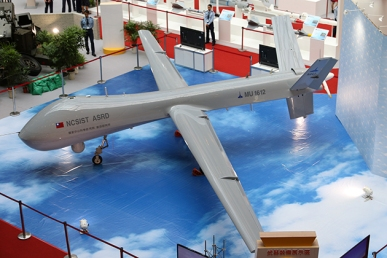 A MALE UAV developed by the state-owned National Chung-Shan Institute of Science and Technology (NCSIST).