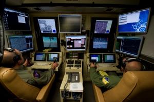 MQ-9 Reaper pilots at Holloman AF base