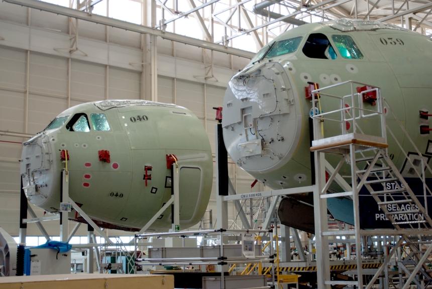 A400M nose