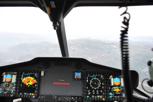 H160 weather radar