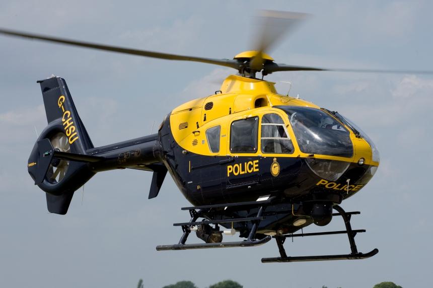 G-CHSU EC135 AJOsborne