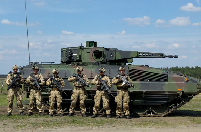 Rheinmetall Puma with German Army
