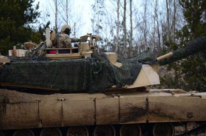 Abrams close up
