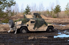 Humvee with 40mm RWS