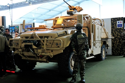 The new Special Forces Heavy Weight (PLFS) tactical vehicle.