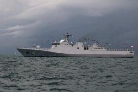 KRI Sultan Hasanuddin from the Indonesian Navy