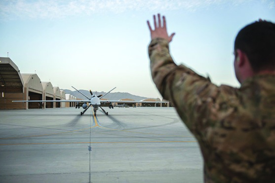 Reaper extends range in Afghanistan