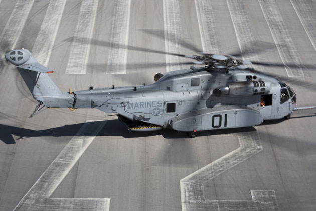 The CH-53K King Stallion