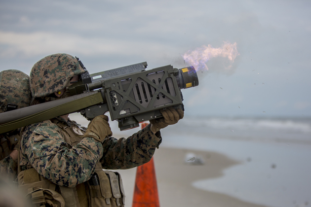 2nd LAAD Conducts Stinger Live Fire Training Exercises