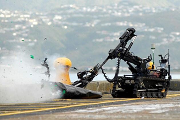 NZ bomb squad