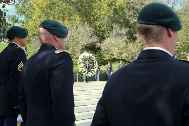 John F. Kennedy Wreath Laying Ceremony