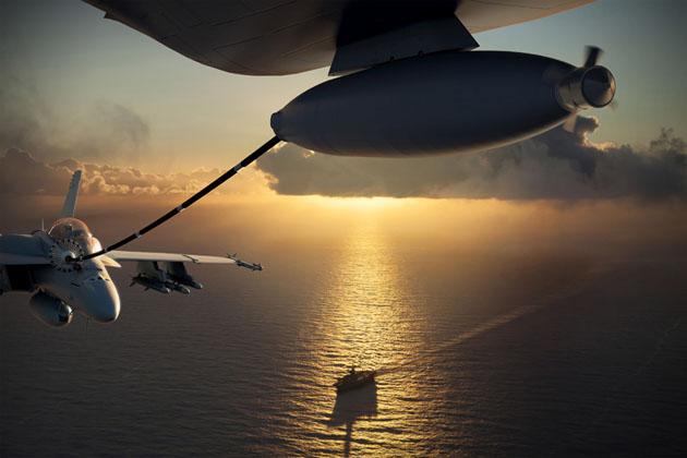 Boeing_MQ-25_Sunset_Carrier