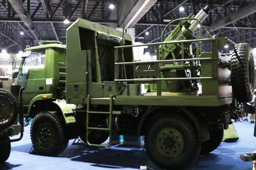 Thai artillery