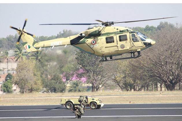 India HAL heli